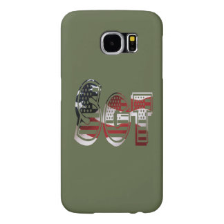 USA Military Green American Sgt Sergeant Samsung Galaxy S6 Cases