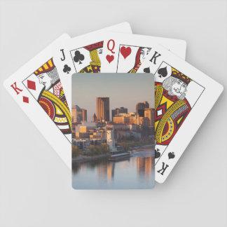 USA, Minnesota, Minneapolis, St. Paul 3 Poker Deck