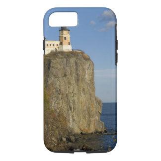 USA, Minnesota.  Split Rock Lighthouse on Lake iPhone 7 Case
