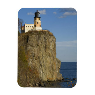 USA, Minnesota.  Split Rock Lighthouse on Lake Magnet