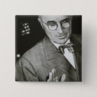 USA, Missouri, Independence, Truman Presidential 2 Inch Square Button