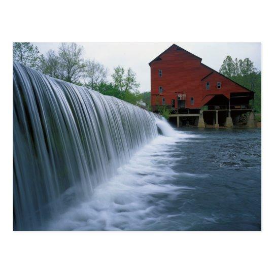 USA, Missouri, Ozark County, Rockbridge Mill Postcard
