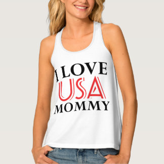usa mommy tank top