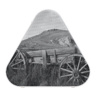 USA, Montana, Bannack State Park Old wagon made Blueooth Speaker