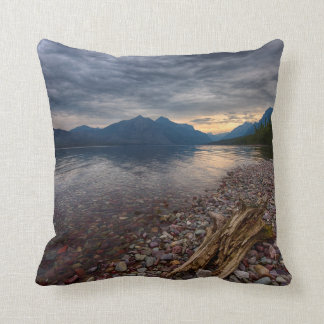 USA, Montana, Glacier National Park 1 Throw Pillow