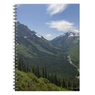 USA, Montana, Glacier National Park, scenic Notebooks