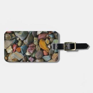 USA, Montana, Glacier National Park, Stones Luggage Tag