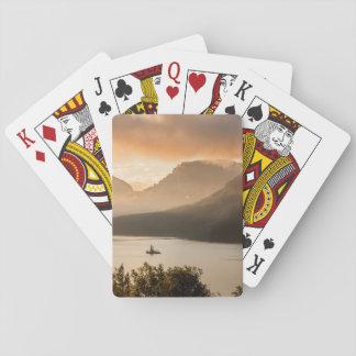 USA, Montana, Glacier National Park. Sunrise Playing Cards