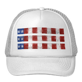 USA Musical Flag Trucker Hat