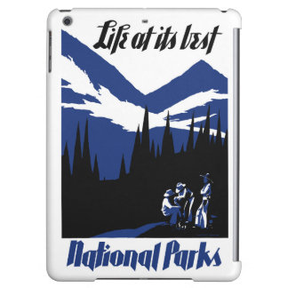 USA National Parks Vintage Poster Restored Case For iPad Air