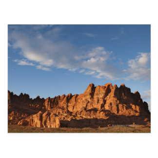 USA, Nevada, Valley of Fire, Red Rock Hills Postcard