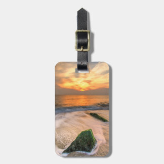 USA, New Jersey, Cape May. Scenic On Cape May 2 Bag Tag
