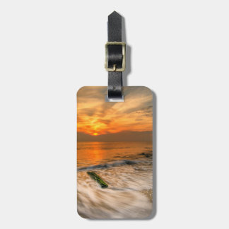 USA, New Jersey, Cape May. Scenic On Cape May 4 Bag Tag