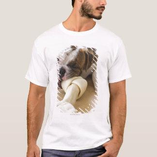 USA, New Jersey, Jersey City, Cute bulldog pup 2 T-Shirt
