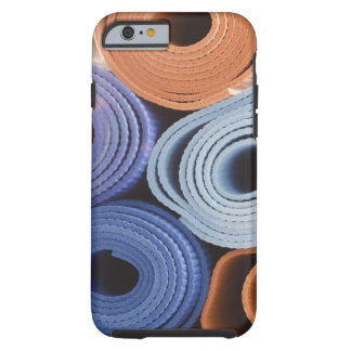 USA, New Jersey, Jersey City, Stack of exercise Tough iPhone 6 Case