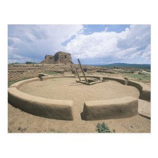 USA, New Mexico, Pecos National Historical Park, Postcard