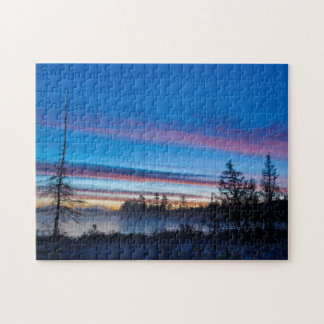 USA, New York, Adirondack Mountains Jigsaw Puzzle