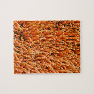 USA, New York City, Carrots for sale Jigsaw Puzzle