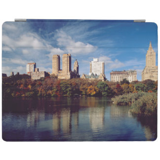 USA, New York City, Central Park, Lake iPad Cover