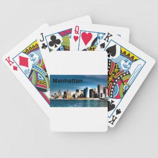 USA New York Manhattan (St.K) Poker Deck