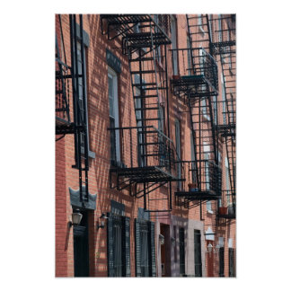 USA, New York, New York City, Brooklyn: Cobble Poster