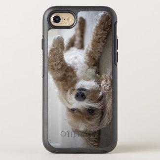 USA, New York, New York City, Brooklyn, Cockapoo OtterBox Symmetry iPhone 8/7 Case