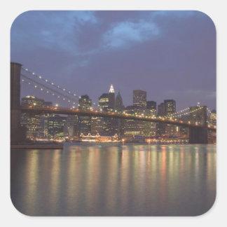 USA, New York, New York City, Manhattan: 14 Square Sticker