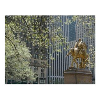 USA, New York, New York City, Manhattan: 16 Postcard