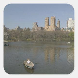 USA, New York, New York City, Manhattan: 17 Square Sticker