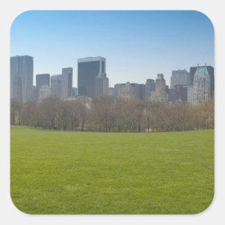 USA, New York, New York City, Manhattan: 18 Square Sticker