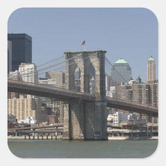 USA, New York, New York City, Manhattan: 21 Square Sticker