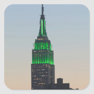 USA, New York, New York City, Manhattan: 2 Square Sticker