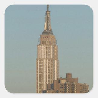 USA, New York, New York City, Manhattan: 7 Square Sticker