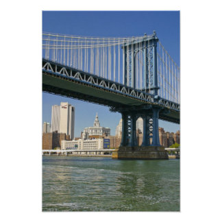 USA, New York, New York City. Manhattan Bridge Poster