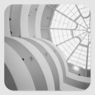 USA, New York, New York City: The Guggenheim 3 Square Sticker