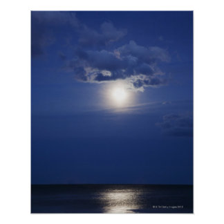 USA, New York, Queens, Rockaway Beach, Landscape 2 Poster