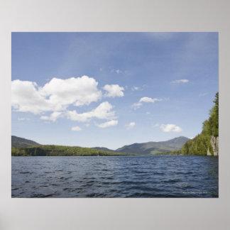 USA, New York State, Adirondack Mountains, Lake 2 Poster