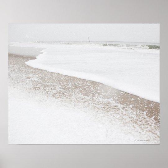 USA, New York State, Rockaway Beach, beach in Poster