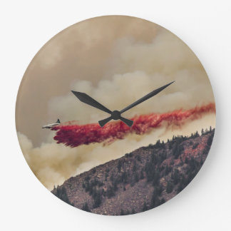 USA, North America, Colorado, Boulder, Flagstaff Large Clock
