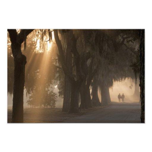 USA; North America; Georgia; Savannah. Boys Photo Print