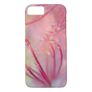 USA, North Carolina. Catawba rhododendron with iPhone 7 Case