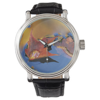 USA, Northeast, Maple Leaf in Reflection Wrist Watches