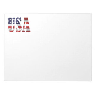 USA NOTEPAD