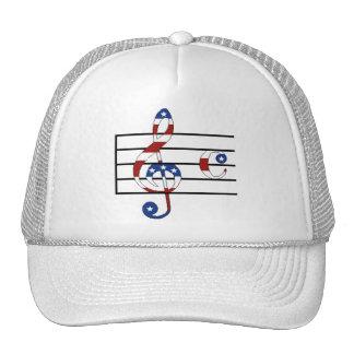 USA Notes Trucker Hat