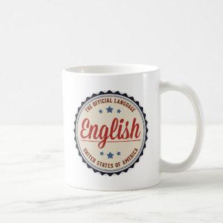 USA Official Language Coffee Mug