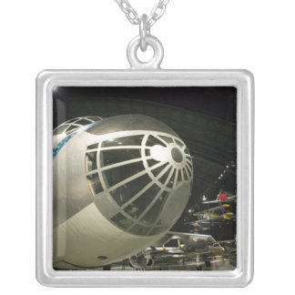 USA, Ohio, Dayton: US Air Force Museum and Square Pendant Necklace