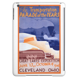 USA Ohio Expo Vintage Poster Restored iPad Air Case