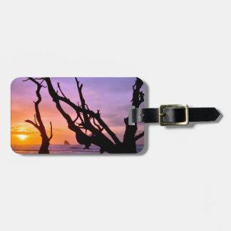 USA, Oregon, Cape Meares. Sunset Luggage Tag