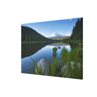 USA, Oregon, Clackamas County, View of Trillium 3 Canvas Print
