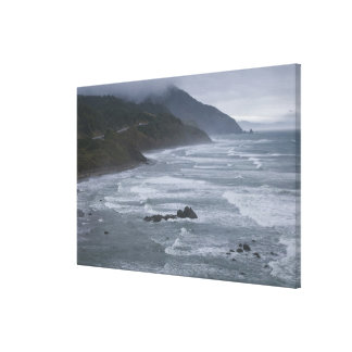 USA, Oregon, Coastline Canvas Print